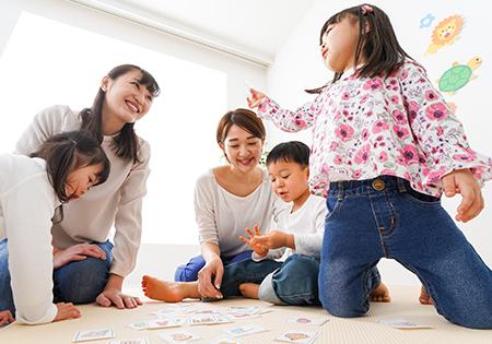 「幼児向けコース(3~4歳)」王寺 香芝 三郷 法隆寺 こどもKIDS英会話はNARA日米英語学院